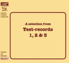 A Selection From Test Records 1, 2 & 3 CD XRCD