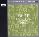 Best Audiophile Voices III CD XRCD