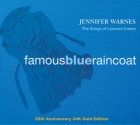 Jennifer Warnes - Famous Blue Raincoat (Songs Of Leonard Cohen) Gold CD