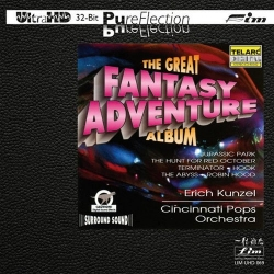 Erich Kunzel & Cincinnati Pops Orchestra - The Great Fantasy Adventure Album Ultra HD CD