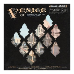 Georg Solti - Venice (Royal Opera House Orchestra) LP