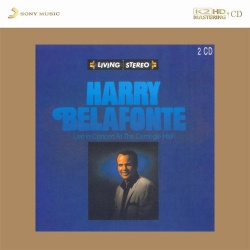 Harry Belafonte - Live In Concert At The Carnegie Hall K2 HD CD (2CD)