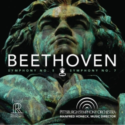 Manfred Honeck & Pittsburgh Symphony Orchestra: Beethoven - Symphony No 5 & No 7 SACD