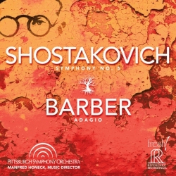 Manfred Honeck & Pittsburgh Symphony Orchestra - Shostakovich: Symphony No. 5 / Barber: Adagio SACD