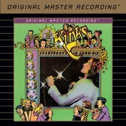 The Kinks - Everybodys In Showbiz MFSL SACD oop