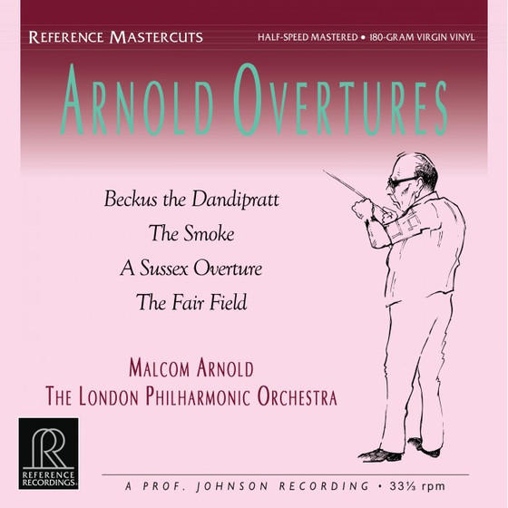 Malcom Arnold & The London Philharmonic Orchestra - Arnold Overtures LP