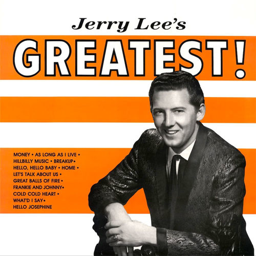 Jerry Lee Lewis - Jerry Lees Greatest! LP