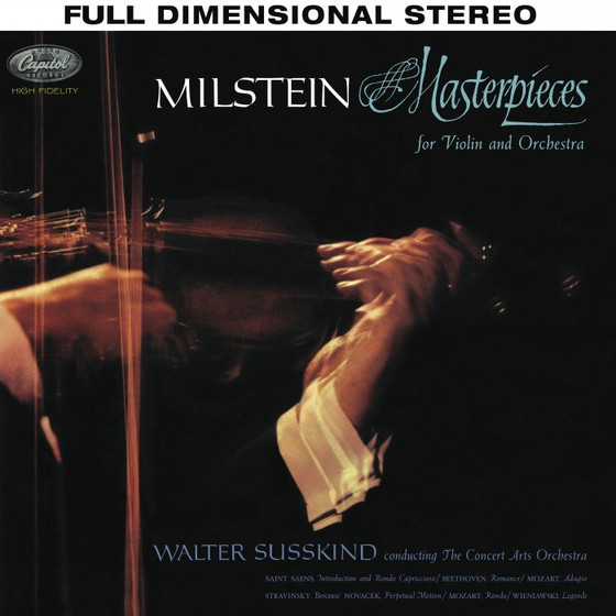 Nathan Milstein: Susskind - Masterpieces For Violin And Orchestra SACD