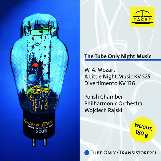 The Tube Only Night Music - Mozart: A Little Night Music, Divertimento LP