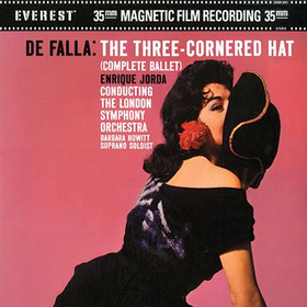 Enrique Jorda - Falla: The Three-Cornered Hat 2LPs (45rpm)